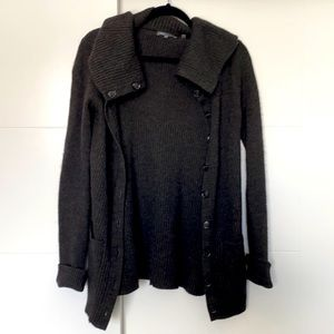 Vince Button Up Sweater